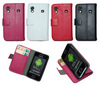 Hot sale wallet PU leather case for samsung galaxy ace s5830