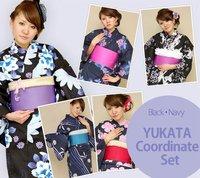 Yukata kimono commonly worn to japanese summer events