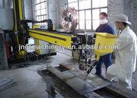 turntable welding Longititude and Circular Welding