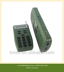 mp3 player for hunting CP-387; electronic bird call;mp3 bird caller