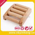 de madera del rodillo masajeador de espalda xsbm0201