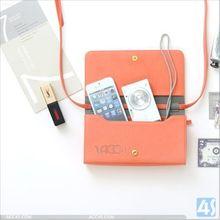 Lady Shoulder Bag for Mobile Phone iPhone 5 5S 5C P-UNI6CASE001
