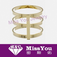 new design tin alloy wedding ring from china