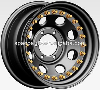 4x4 Steel wheel 17x9