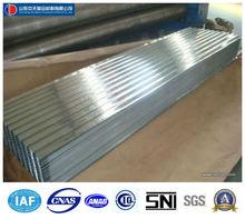 Material de construcción por inmersión en caliente de la planta galvaning, material para techos de hoja en china