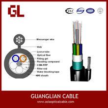 Gytc8s Figure 8 Self-supporting Messenger Fiber Optic Cable Price Per Meter