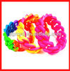 Newest design two color silicone bracelet 2013