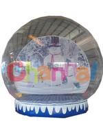 Inflatable Christmas Human Snow Globe/Inflatable Snow Globe