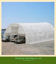 30*85ft PVC big car parking shelter