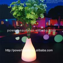 color changing waterproof led vase light base