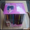 high quality printed plastic pencil box