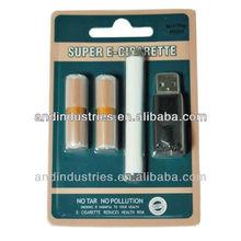 808D-1 disposable atomizer USB charger Blister kit slim e cigarette kit
