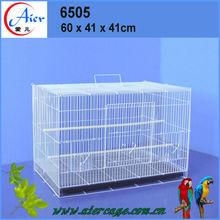 powder coating or galvanized pvc bird breeding cages
