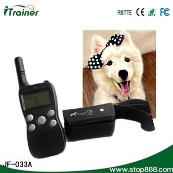 hot pet dog training collar 033A dog training bark control