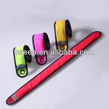 popular led flashing snap wristband birthday gift