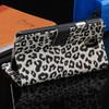 Wallet leopard print PU leather case for samsung N9000/for note3