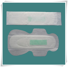 active oxygen and negative ion sanitary napkin