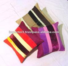 Organic Cotton Cushion Cover / Zipper Cushion Cover / Chenille Cushion Cover