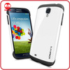 High Quality Fashion Slim Flit Slicone PC Hybrid Armor Case Galaxy S4