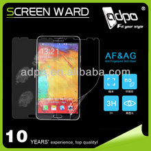 For Samsung Galaxy anti-fingerprint matte screen protector note 3