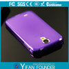 mobile phone case tpu case cover for samsung s4 case back cver with smart material