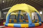 Inflatable pool, pool with tent, swimmin pool, Piscina de burbujas