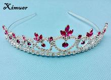 Fashion rhinestone crystal bridal headband