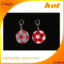 Promotional Plastic Reflective Key Chain cute keychains for car keys