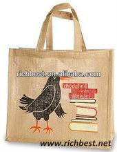 wholesale jute bottle wine tote bag
