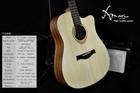 Amari cutaway Acoustic guitar AM-4188C ,unfinished electric guitar kit