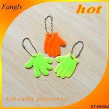 Promotional Plastic Reflective Key Chain stuffed plush mouse car decoration