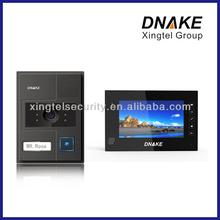 (302C2+302G5)villa color video door phone with 7 inch screen