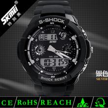New style sport unique design waterproof Analog Digital Wrist Watch