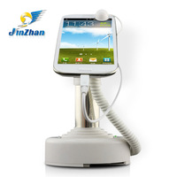 Anti-theft series sensor alarm holder android mobile phone stand with charging