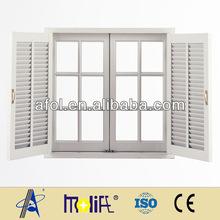 Zhejiang AFOL Brand WINDOWS Aluminium Swing Window Storm Window Metallic