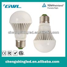 'GWL Stable property High Power CC-QP-5W-C led light bulb E27 Radiator and lamp holder integration