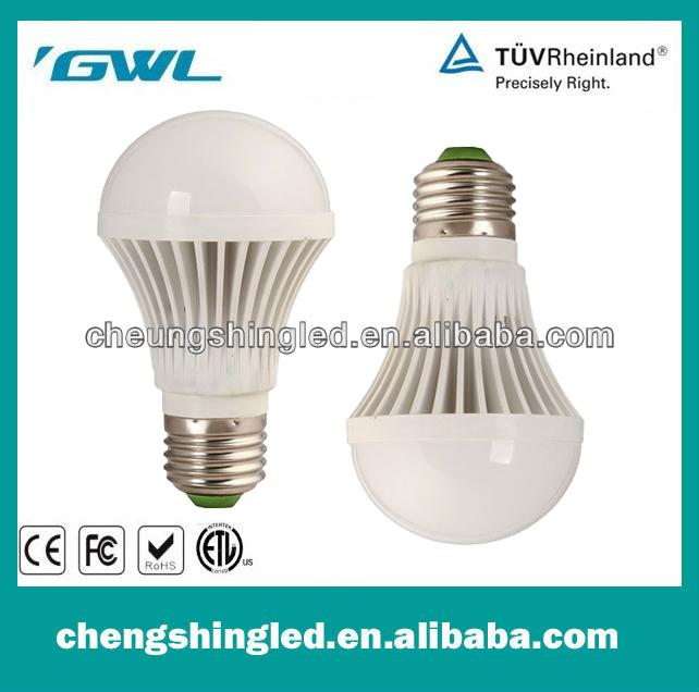'GWL stable performance High Power CC-QP-5W-C led light bulb E27 Radiator and lamp holder integration