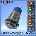 Alta actuador plana de 12 v interruptor de botón iec 60947 - 5 - 1 lámpara de led