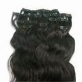 indiano capelli umani di lunga durata per acconciature clip in estensioni dei capelli