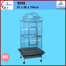 WHITE VEIN DOME HOUSE OPEN PLAY TOP PARROT BIRD CAGES