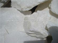 98% CaCO3 White Calcium Carbonate Lump