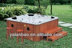 Economic garden whirlpool bathtub family hot tubG680