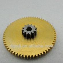 steel brass pinion printer gear, brass spur gear