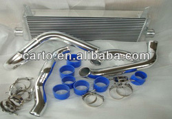 Aluminum intercooler kits aluminum pipe kits parts for Mitsubishi Lancer evo 7 8 9