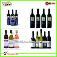 custom designs personalized kraft paper wine label