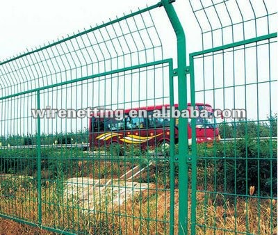 Decorative Wire Mesh Fence For Residential Building