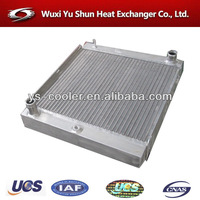 manufacturer of hot selling and high performance customizable aluminum volvo truck radiator