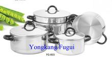 5Pcs Aluminium Polished Cookware Pot Set
