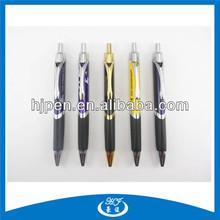 Pad Printing Half Metal Triangle Shaped Ball Pen,Ago Pen