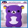 2013 Bear 3D animal shape cute silicone case for ipad mini